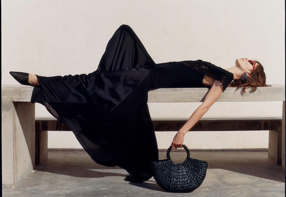 Zara – kolekcja długich sukienek na wiosnę lato 2018