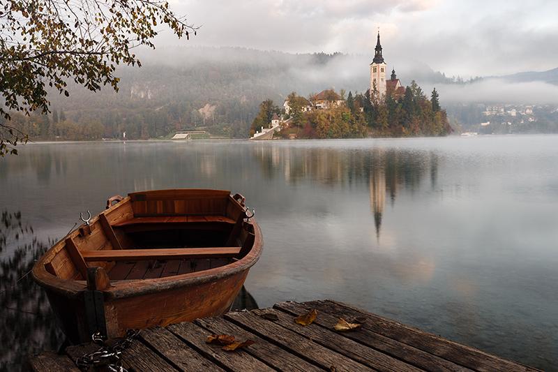 Jezioro Bled, Słowenia.