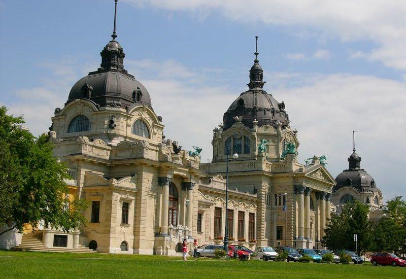 Łaźnie Szechenyi, Városliget, Budapest.