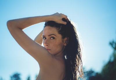 Fryzury typu wet look - letnio i seksownie