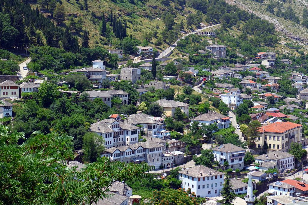 Gjirokastra, widok z zamku