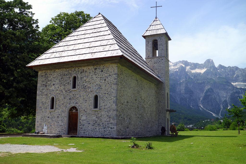 Kościół katolicki, Theth