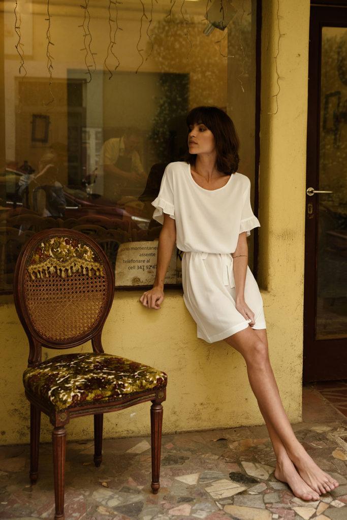 Kolekcja letnia 303 avenue - Biała sukienka letnia