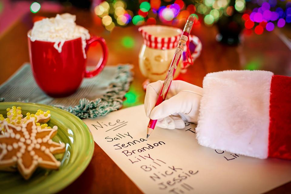 Listy firmowe od św. Mikołaja