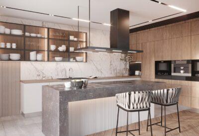 Kiedy czarny okap kuchenny pasuje do kuchni?