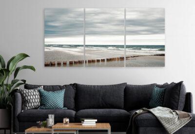 Obrazy marynistyczne - ściana w morskim stylu