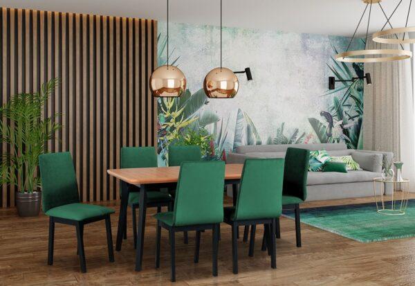 Gdzie postawić stół w małym salonie?
