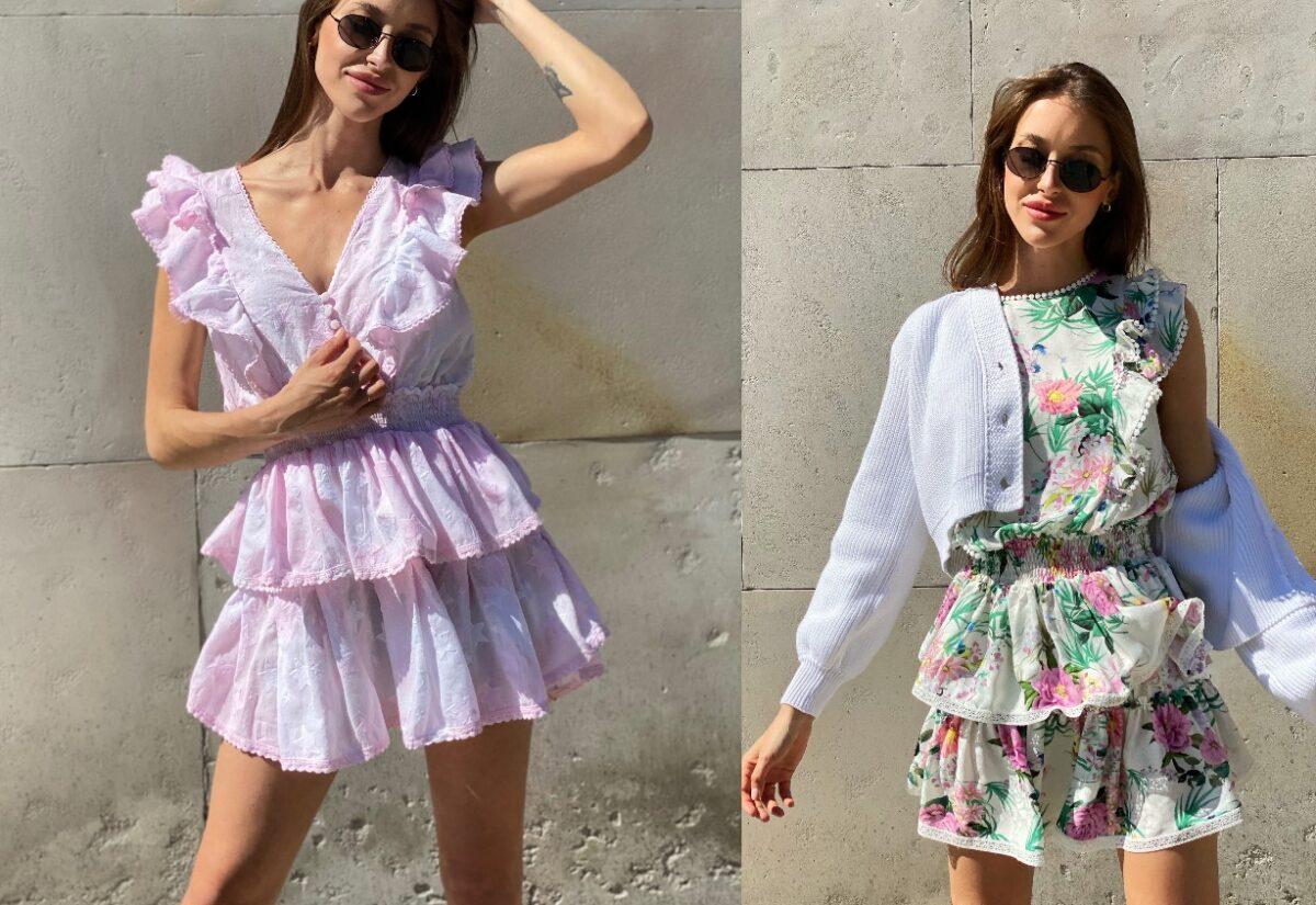 Kwiaty, słońce, wakacje czyli jak ubrać się wiosną i latem w mieście? Najmodniejsze propozycje na damską stylizację – sukienki letnie, topy i spódniczki