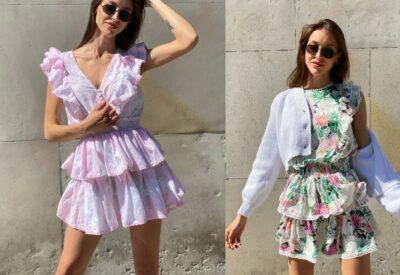 Kwiaty, słońce, wakacje czyli jak ubrać się wiosną i latem w mieście? Najmodniejsze propozycje na damską stylizację - sukienki letnie, topy i spódniczki