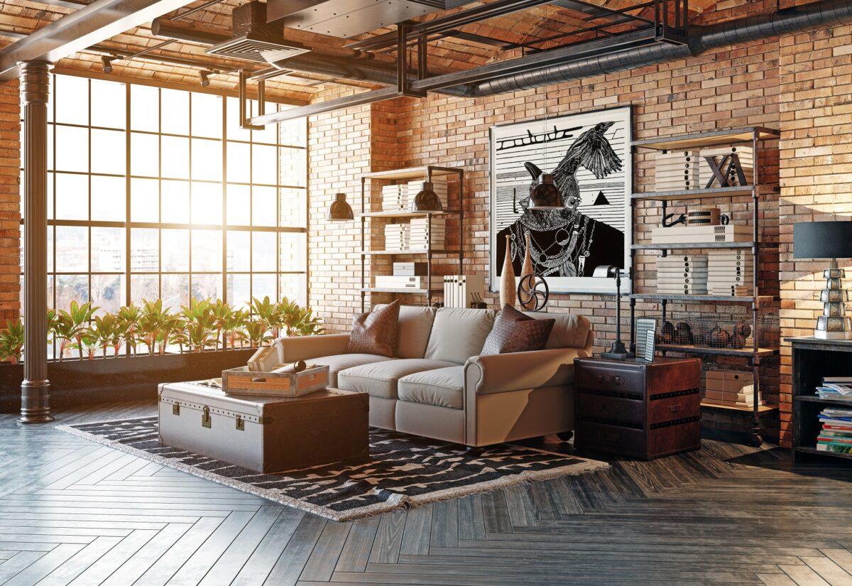 Urządzając mieszkanie w loftowym stylu – 5 porad na aranżację kawalerki w Łodzi