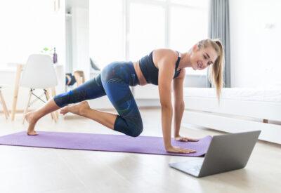 Trening online - popraw samopoczucie, zbuduj kondycję i zadbaj o zdrowie